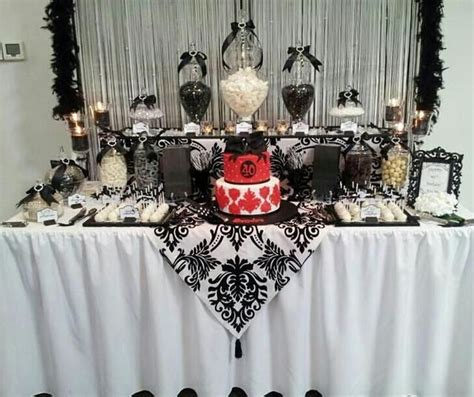 black decorations uk 35 birthday table decorations ideas for adults