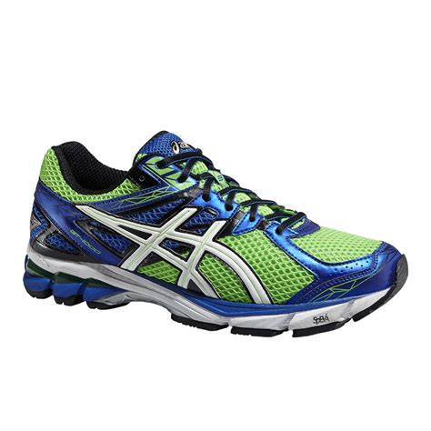 Ardiles Marendaz Green Blue Running Shoes asics s gt 1000 3 structured cushioning running shoes neon green white blue sports