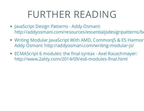 javascript umd pattern javascript module patterns