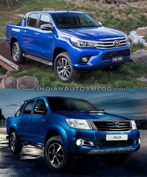 toyota old toyota hilux vigo vs toyota hilux revo old vs new