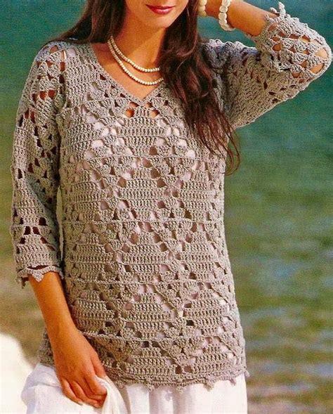 free crochet pattern ladies jersey crochet sweaters crochet tunic pattern beautiful simple