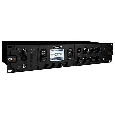Best Rack Multi Effects Processor by Line 6 Pod Hd Pro X Guitar Multi Effects 614252302371 Ebay