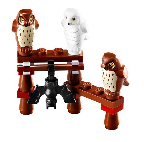 lego owl tutorial the ugly duckling lego harry potter minifigures owls