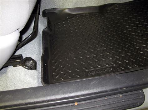 2011 Rav4 Floor Mats by Husky Liners Classic Custom Auto Floor Liners Front