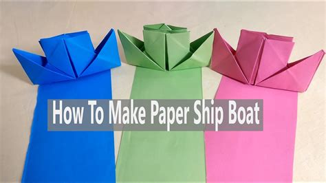 How To Make A Paper Battleship - how to make a paper battleship how to make a paper boat
