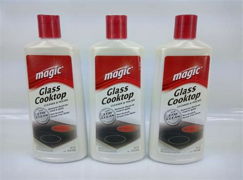 Smooth Cooktop Cleaner - 3 pk magic 16 oz glass ceramic smooth cooktop stovetop