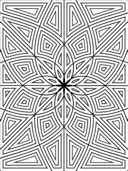 rectangle mandala coloring pages 197 best images about printables on coloring