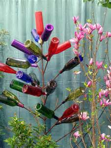 how to make a wine bottle tree 80 wine bottle crafts hative
