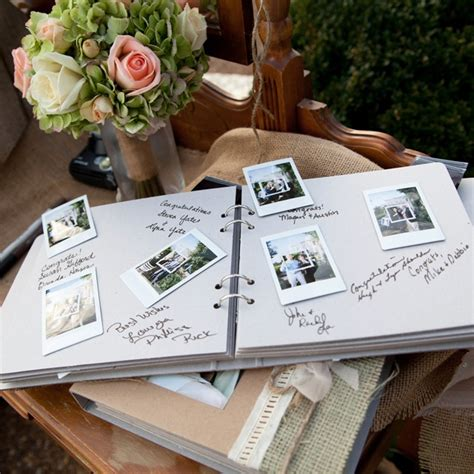polaroid picture wedding guest book best 25 polaroid guest books ideas on