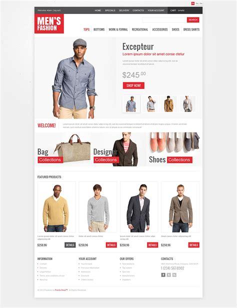 s fashion oscommerce template web design templates
