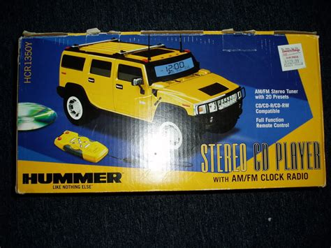 for sale brand new hummer replica cd radio clock hummer forums enthusiast forum for