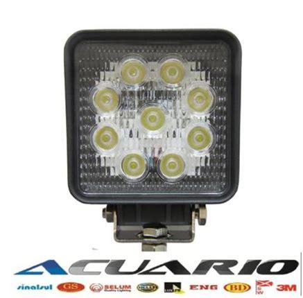 led cl work light comercial acuario 0001 led work light 27w cod 0727 fl