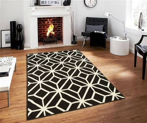 black and white living room rug contemporary rugs for living room modern rugs 5x7 black