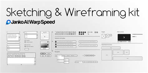 50 Free Ui And Web Design Wireframing Kits Resources And Source Files Smashing Magazine Illustrator Wireframe Template