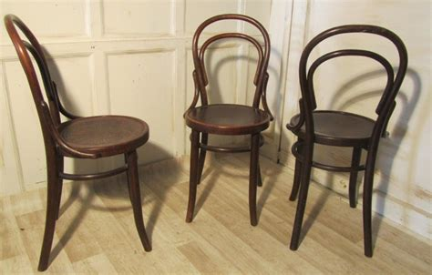 bentwood bistro chairs uk set of 6 thonet bistro bentwood chairs 246404