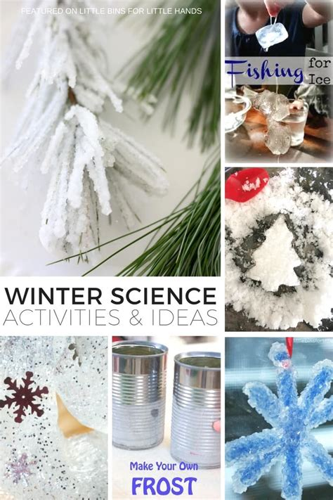 ideas for winter science ideas for indoor winter activities