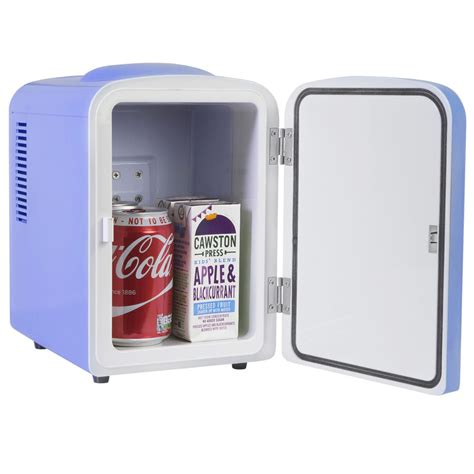 mini fridge for bedroom iceq 4 litre portable small mini fridge for bedroom mini cooler warmer in blue ebay