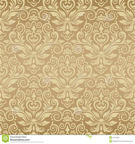 vector vintage pattern background seamless vintage background vector background for stock