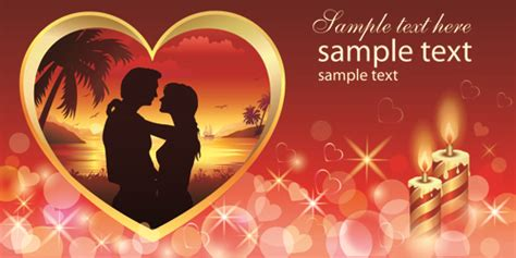 download themes valentine day romantic valentine day theme background vector free vector