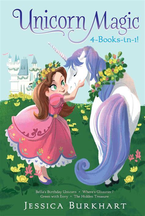 overnight magic 4 books unicorn magic 4 books in 1 book by burkhart