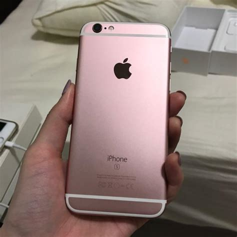 Iphone 6s 64gb Rosegold iphone 6s and 6s plus gold 64 gb for sale secondhand my