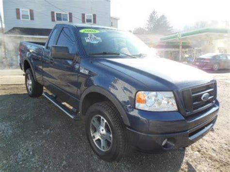 2006 F150 Specs by 2006 Ford F150 Fx4 Regular Cab 4x4 Data Info And Specs