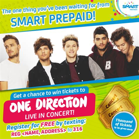 One Direction Tickets Giveaway - one direction concert tickets giveaway lush angel