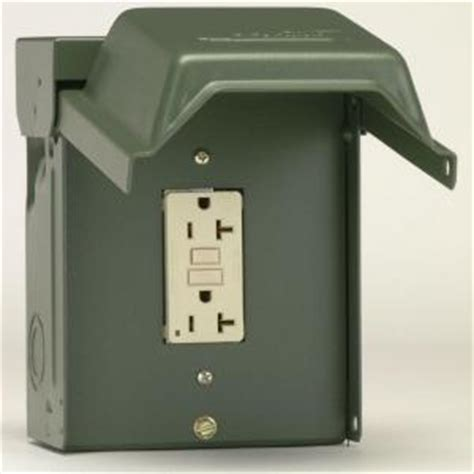 ge 20 backyard outlet with gfi receptacle u010010grp