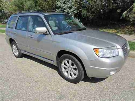 2007 subaru forester type buy used 2007 subaru forester x panoramic sunroof 1 owner