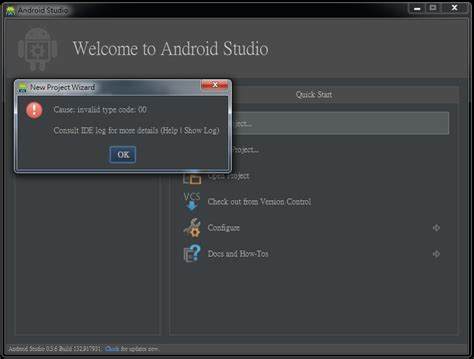 android failed installation failed with message null android studio for linux revizionchart