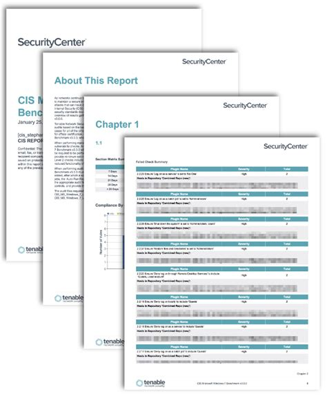 Cis Report Template Cis Microsoft Workstations Benchmark Reports Sc Report