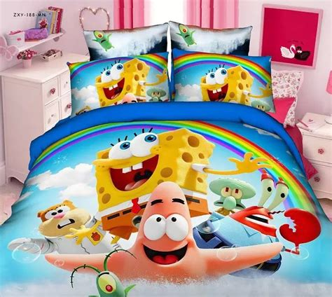 spongebob toddler comforter set spongebob beds reviews shopping spongebob beds