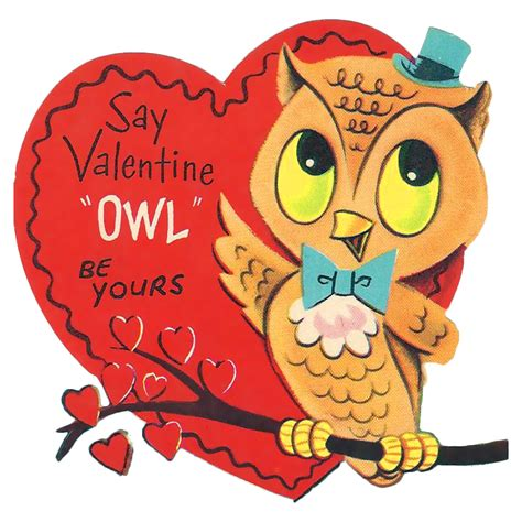 owl lover valentine clip art free printable clipartion com