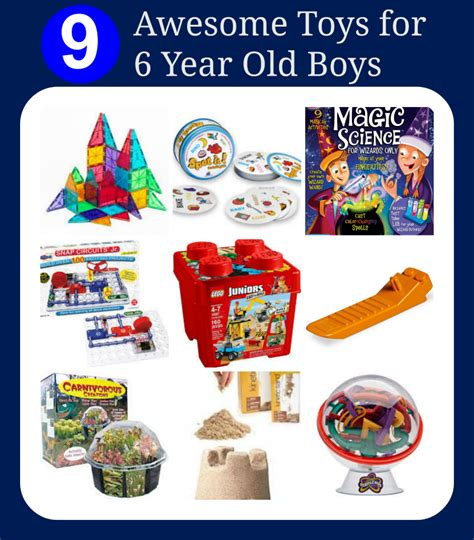 gift ideas for 6 year boys awesome toys for six year boys
