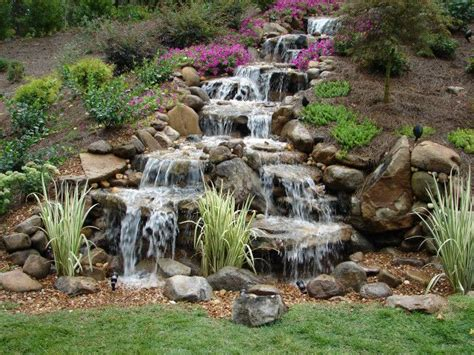 17 best ideas about backyard waterfalls on