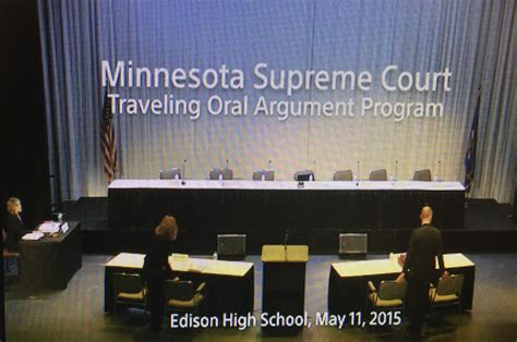minnesota supreme court edison hosts the minnesota supreme court