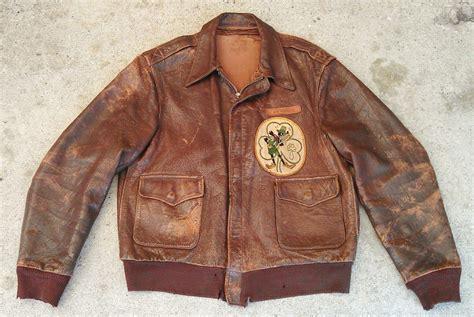 Sepatu Almost Wing sold on ebay vintage wwii a2 leather jacket w disney