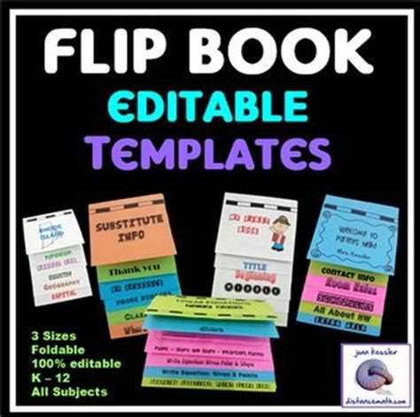Flip Book Templates For Teachers 7 Best Flip Books Images On Pinterest Interactive Notebooks Reading And School