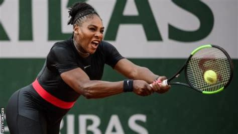 serena williams: french open bans 'superhero' catsuit from