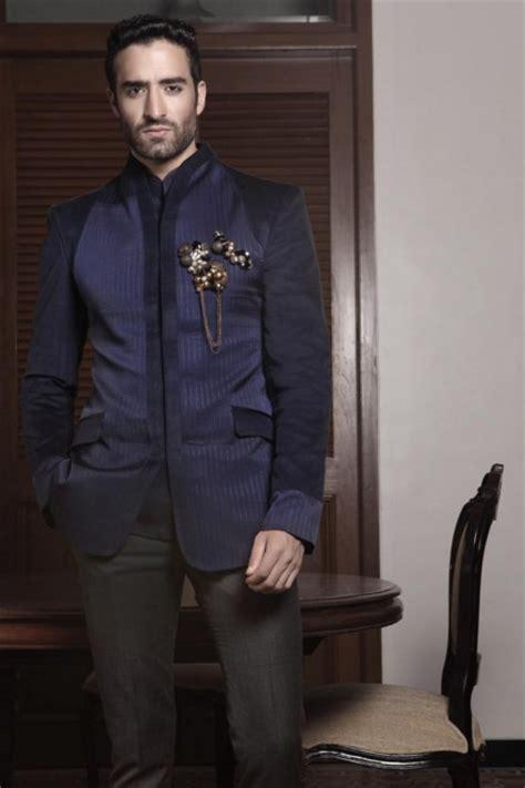 New Endia Jaket Navy indian wedding guest for kurtas designer suits