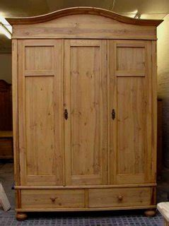 armoire with hanging space antique pine furniture