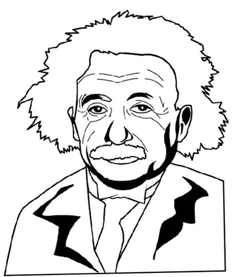 Albert Einstein Coloring Pages Bestofcoloring Com Albert Coloring Pages
