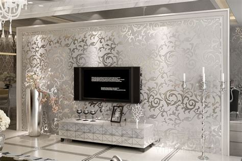 Modern Home Decor Store by 2014 Upgrade European Background Wall Thickening Flocking