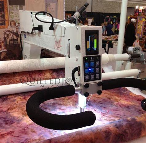 Apqs Longarm Quilting Machine by Apqs Millennium Millie Longarm Arm Quilts
