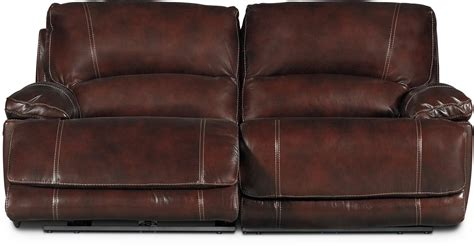burgundy sofa and loveseat burgundy 3 leather match power reclining console
