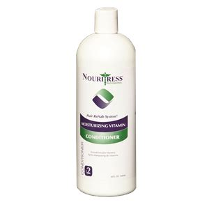 elucence perm nouritress moisturizing vitamin conditioner 32oz