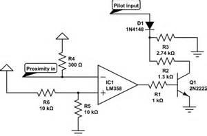 automotive electric car quot j1772 quot charger quot pilot quot signal sequencing with passive circuitry
