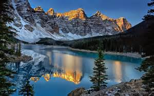 photographed moraine lake canada travel