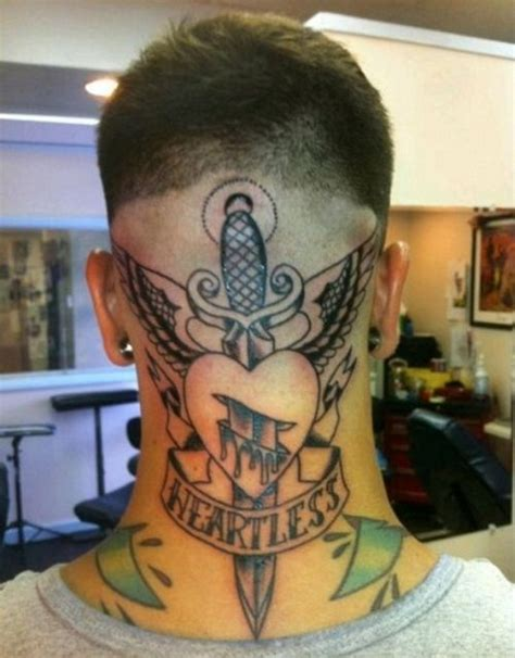 tattoo neck back man best 78 neck tattoos for men images on pinterest tattoos