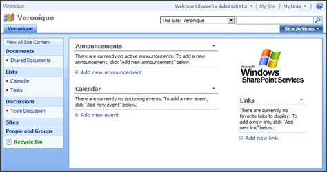 sharepoint 2007 site templates sharepoint 2007 vs 2010 for end users the default